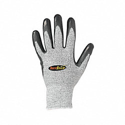 Cut Resistant Gloves, Gray, S, PR