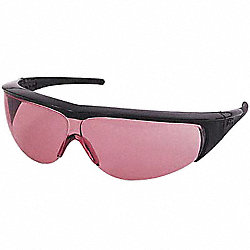 Laser Glasses, Light Magenta, Uncoated