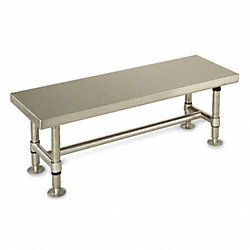 Cleanroom Gowning Bench, 36 In