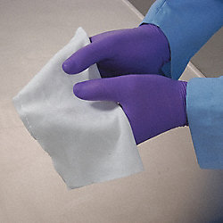 Cleanroom Wipe, 12 x 12 In, Pk 75