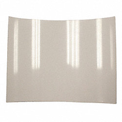 Glass Shield, 6 In.X8 In.X.015 In.