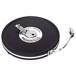 Measuring Tape, Closed, 50 Ft, Ft/In/8ths