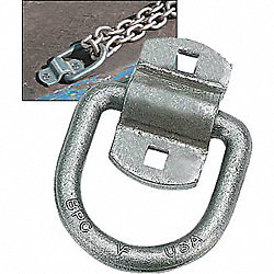 Forged D-Ring With 2-Hole Bracket, 3-1