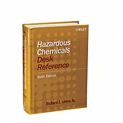 Hazardous Chemicals Ref Book, 6th Edition
