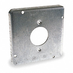 Cover, Square, 1 Outlet