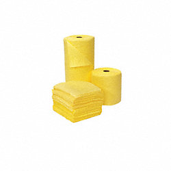 Absorbent Roll, Yellow, 49 gal., 30 In. W