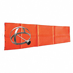 Windsock Kit, Orange, 10 In.