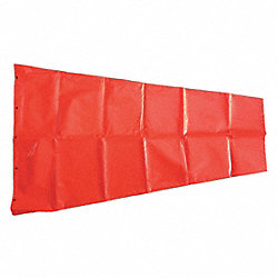 Replacement Windsock, Orange, 18 In. D