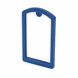 Label Pocket Frame, Pocket Recess, Blue