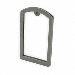 Label Pocket Frame, Pocket Recess, Gray