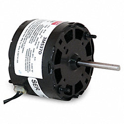 HVAC Motor, 0.6A, Sleeve, Auto, 2 In. L