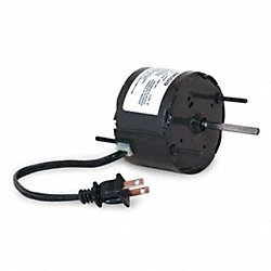HVAC Motor, 2 In. L, 0.7A, Sleeve, Auto