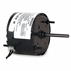 HVAC Motor, 2 In. L, 0.7A, Sleeve, Auto, Stud