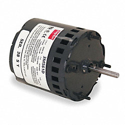 HVAC Motor, 115V, Stud, 1-1/2 In. L, Sleeve