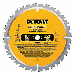 Circular Saw Bld, Crbde, 10 In, 32 Teeth