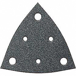 Triangle Vacuum Sanding Sheet, 36G, PK5