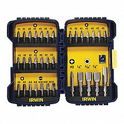 Screwdriver Bit Set, 33 Pc