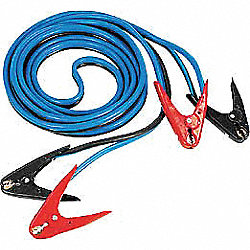 Jumper Cables, 20Ft, 500 Amps, Parrot Jaw