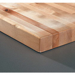 Workbench Top, Hardwood, 30x72x1-3/4