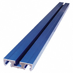 Clamping Track, 33-3/4Wx2-1/4Dx3/4H, Blue