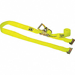 Logistic Ratchet Strap, 20ft x 2In, 1000lb