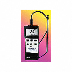 Anemometer, Hot Wire, 40 to 3940 FPM