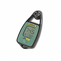 Digital Anemometer, Vane, 0 to 93 MPH