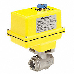 Ball Valve, Electric Actuated, 1 1/4 In