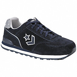 Athletic Work Shoes, Stl, Mn, 10.5M, Nvy, 1PR