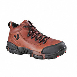 Hiking Shoes, Comp, Mn, 12W, Brn, 1PR