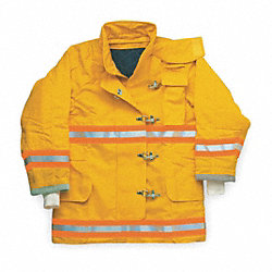 Turnout Coat, Yellow, 2XL, Nomex IIIA