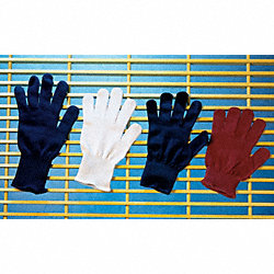 Utility Glove Liner, Blue, Synthetic, PK 12