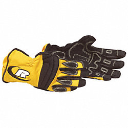 Extrication Gloves, M, Yellow, PR