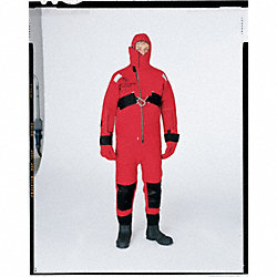 Rescue Suit, Ice, Red/Orange