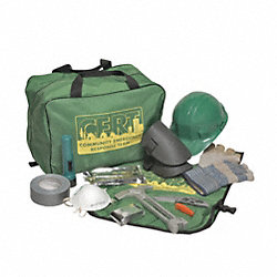 CERT Rescue Responder Kit, 16 Components