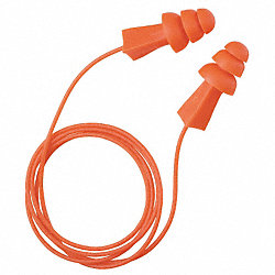 Ear Plugs, 27dB, Corded, Univ, PK100