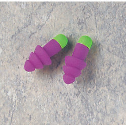 Ear Plugs, 27dB, w/o Cord, Met Det, PK50