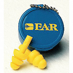 Ear Plugs, 25dB, w/o Cord, Univ, PK50