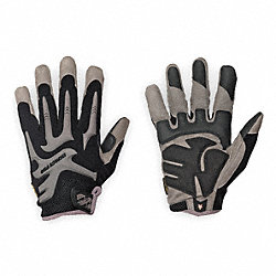 Anti-Vibration Gloves, XL, Black, PR