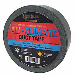 Duct Tape, 48mm x 55m, 9 mil, Black