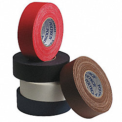 Gaffers Tape, 1-1/2x60 yd, 11.5 mil, Black