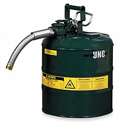 Type II Safety Can, 17-1/2 In. H, Green