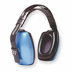 Ear Muff, 25/24/24dB, Multi-Position, Blue