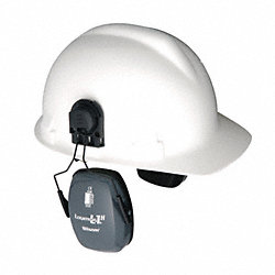 Cap-Mounted Ear Muff, 23dB, Gray