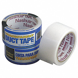 Duct Tape, 48mm x 18.3m, 6 mil, Clear