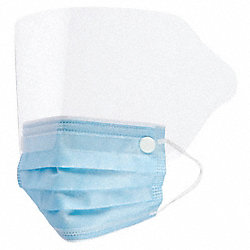 Biosafety Mask, Universal, Blue, PK 25