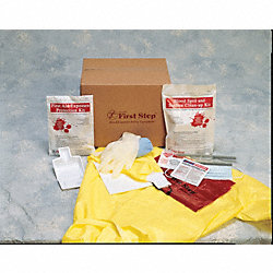 Biohazard Spill Kit, Box, Red