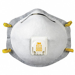 Disposable Respirator, N95, AG, PK 10