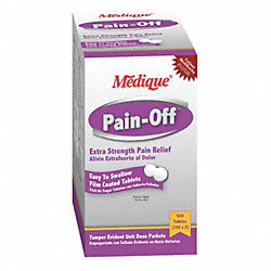 Pain-Off, Tablets, Acetaminophen, PK 500