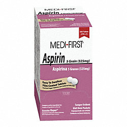 Aspirin, Tablets, PK 500